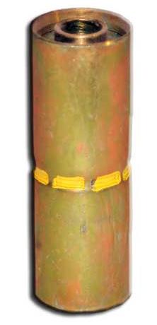 """Piranha® Hose Mender - [1 1/4"""" 2500 PSI Orange]"""