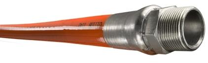 "Piranha® Mainline Theromoplastic Sewer Cleaning Hose - [Orange - 1"" x 300' - 2500 PSI]"
