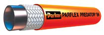 "Parker® Mainline Thermoplastic Sewer Cleaning Hose - [Orange - 1"" x 400' - 2500 PSI]"