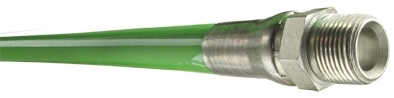 Piranha® High Temp Jetting/Lateral Hose - [Green - 1/8