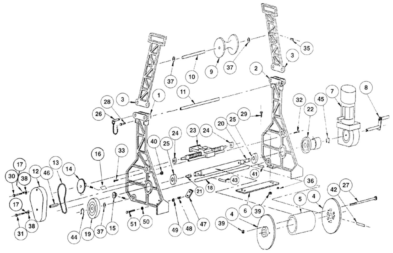 Power Winch Parts Breakdown