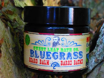 Sweet Leaf Bath Co. Bluegrass Beard Balm - 56g