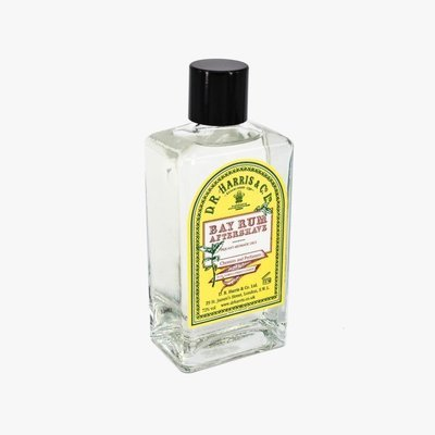 D.R. Harris Bay Rum Aftershave Splash - 100ml Glass Bottle
