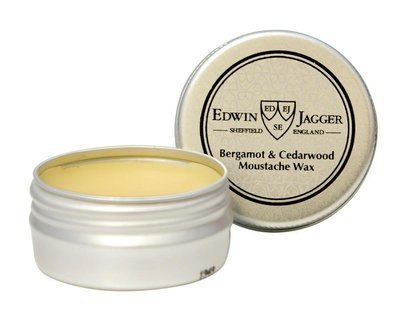Edwin Jagger Bergamot & Cedarwood Extra Hold Moustache Wax - 15ml