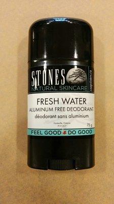 STONES Fresh Water Aluminium Free Deodorant - 75g