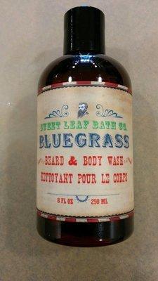 Sweet Leaf Bath Co. Bluegrass Beard & Body Wash - 250ml