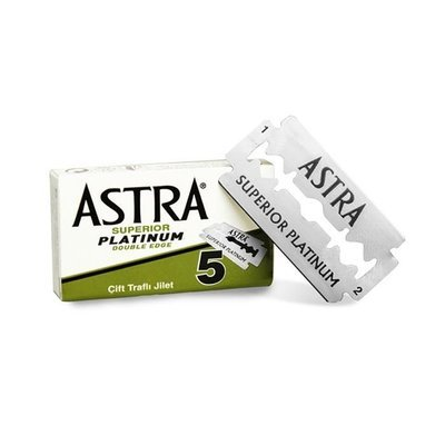 Astra Razor Blades - Pack of 5