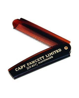 Captain Fawcett 82T Folding Beard / Hair Comb