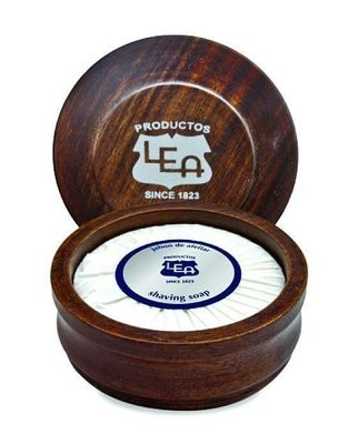 LEA Classic Shaving Soap in Wooden Bowl
