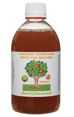 Gert's Organic Honeygar (HCV), 500ml