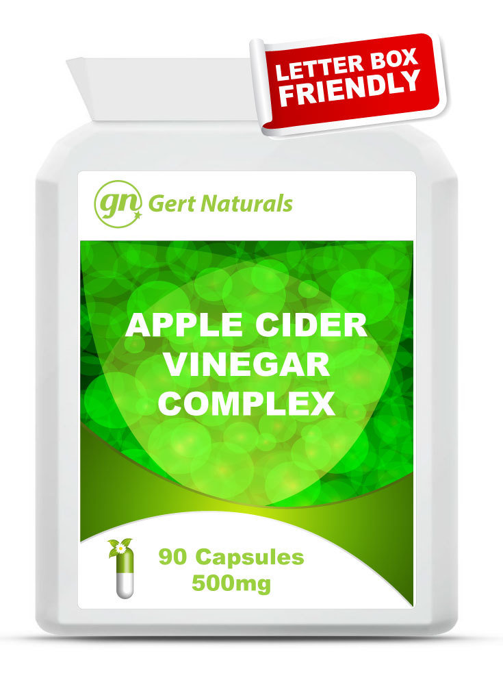 Gert Naturals, Apple Cider Vinegar Complex, 90 Capsules, 500mg