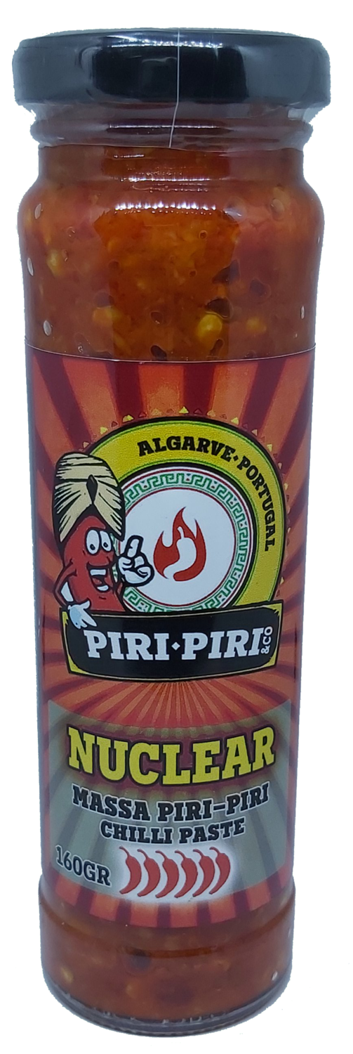 Nuclear Chili Paste 160gr