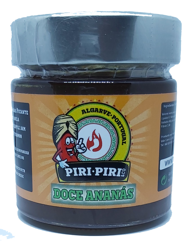 Spicy Pineapple Jam 220gr