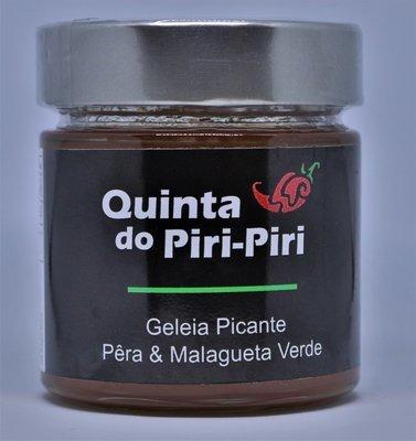Geleia Picante de Pêra & Malagueta Verde 280gr