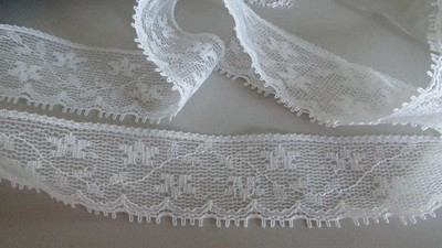 White Floral Eyelash Lace
