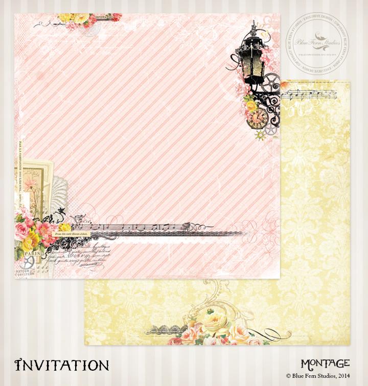 Montage - Invitation