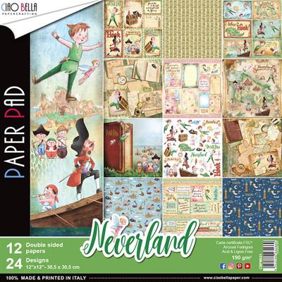 CIAO BELLA Neverland Paper Pad