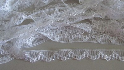 White Scallop Lace