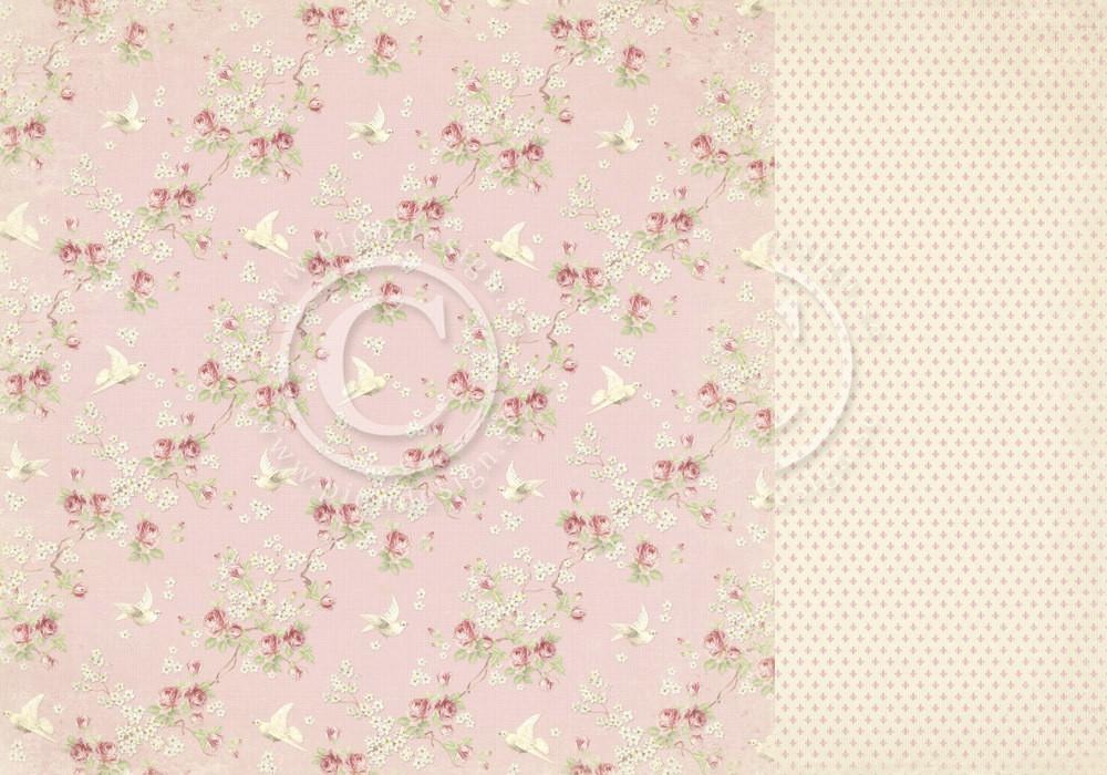 Paris Flea Market - Pink Fabric