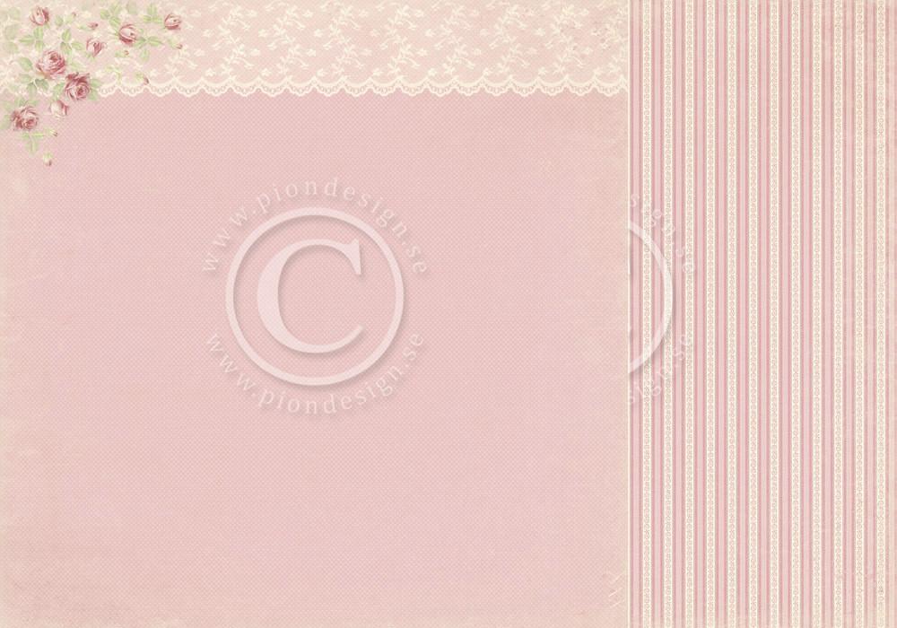 Paris Flea Market - Pink Lace