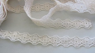 Ivory Floral Lace