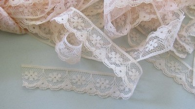 Peach Flower Lace