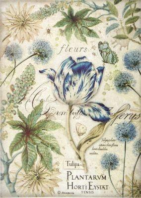 Blue Tulip Rice Paper