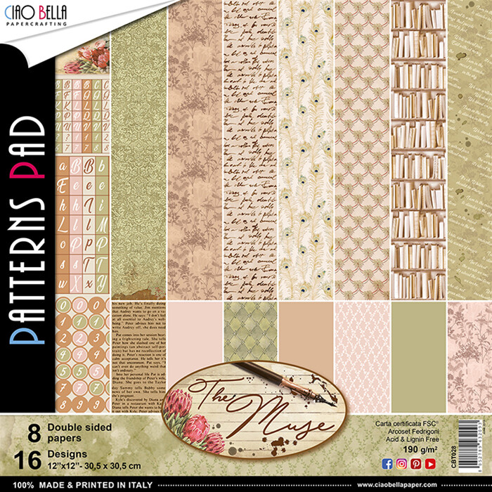 The Muse 12x12 Patterns Pad