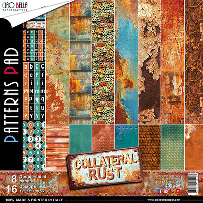 Collateral Rust 12x12 Patterns Pad
