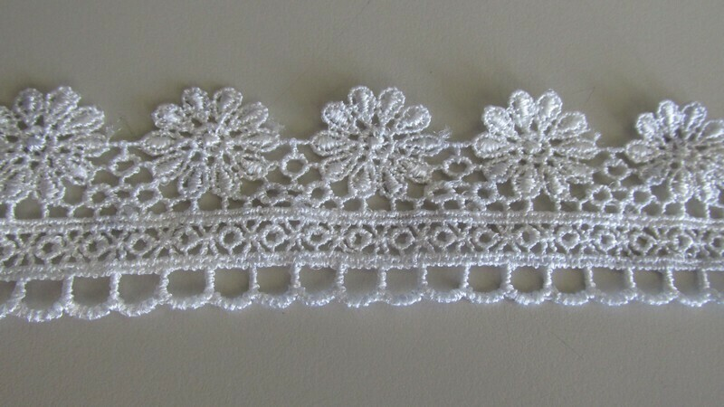 Flower Lace - White