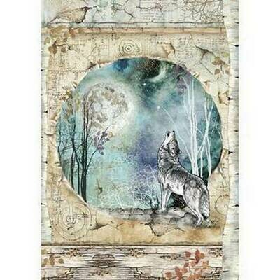 Cosmos - Wolf Rice Paper