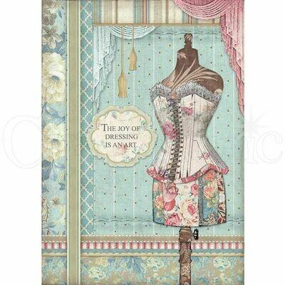Grand Hotel - Mannequin Rice Paper