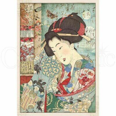 Oriental Garden - Geisha Rice Paper