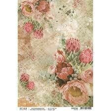 The Muse - Protea Rice Paper