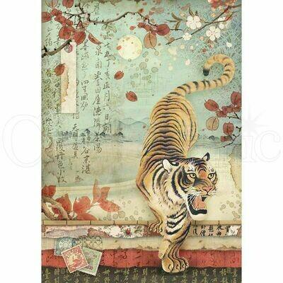 Oriental Garden - Tiger Rice Paper