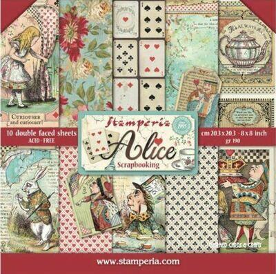 ALICE (In Wonderland) 8X8 PAD