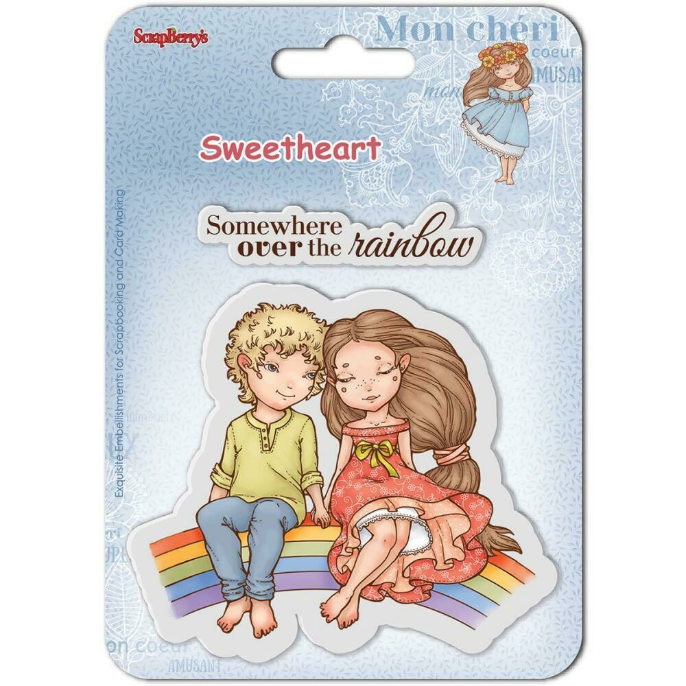 ScrapBerry's - Sweetheart Clear Stamps
