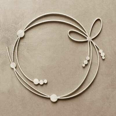 Frame with Beads