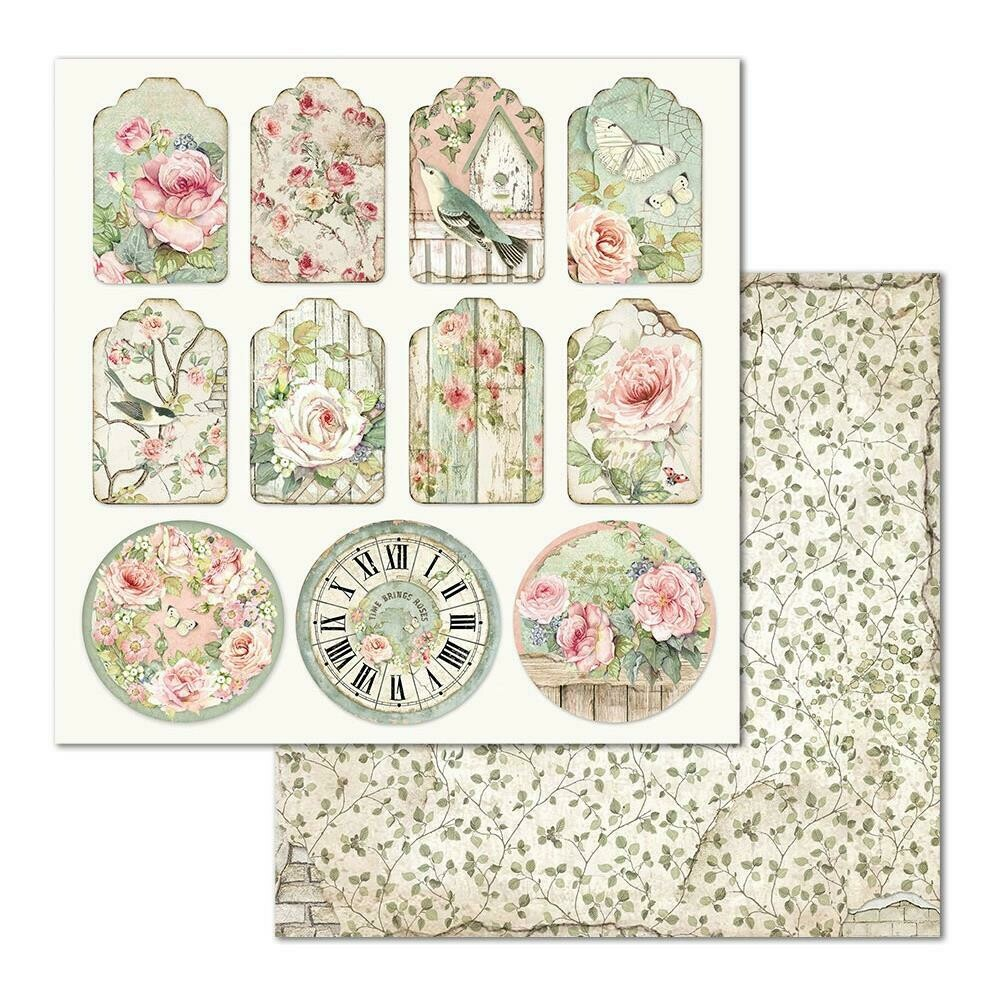 HOUSE OF ROSES SINGLE SHEET - TAGS
