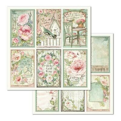 HOUSE OF ROSES SINGLE SHEET - FRAMES