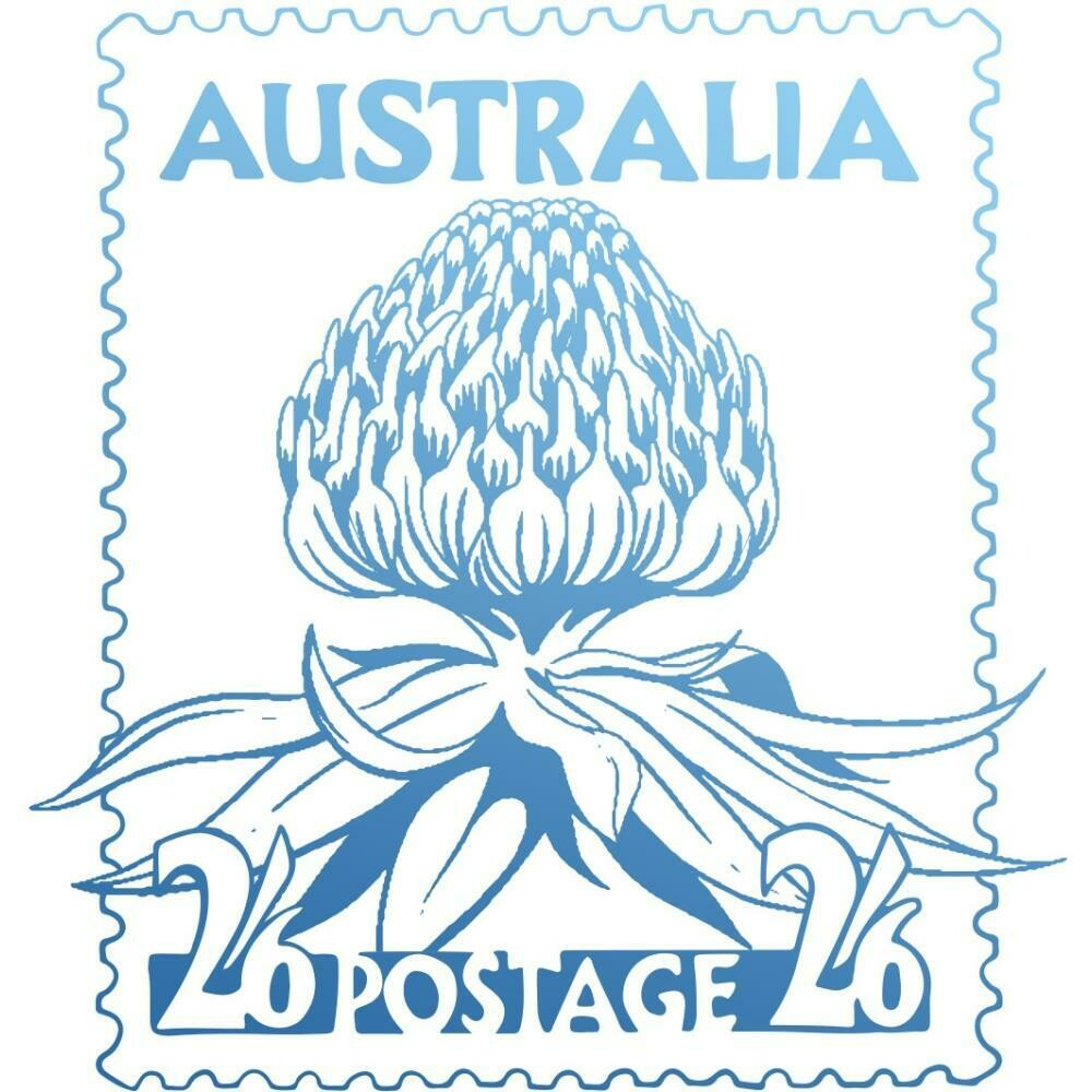 Sunburnt Country Warratah Postage