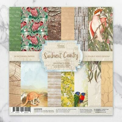 Sunburnt Country Collection 6x6 paper pad