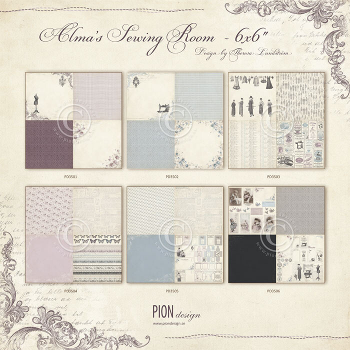 PION DESIGN Alma's Sewing Room - Click to Select