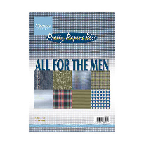 All For The Men - Pretty Papers Bloc