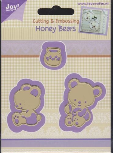 Honey Bears die set