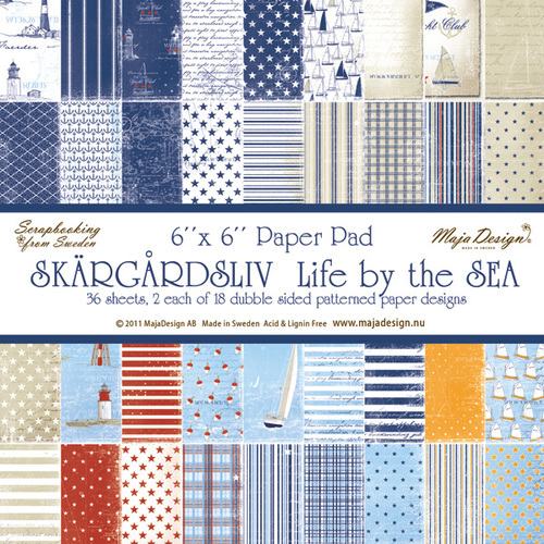 Life by the Sea Paper Stack