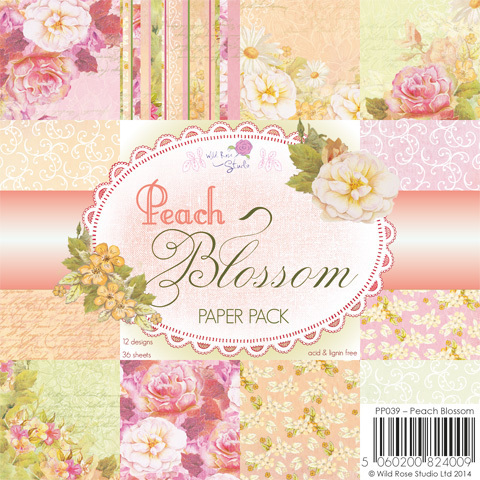Peach Blossom 6 x 6 Paper Pack