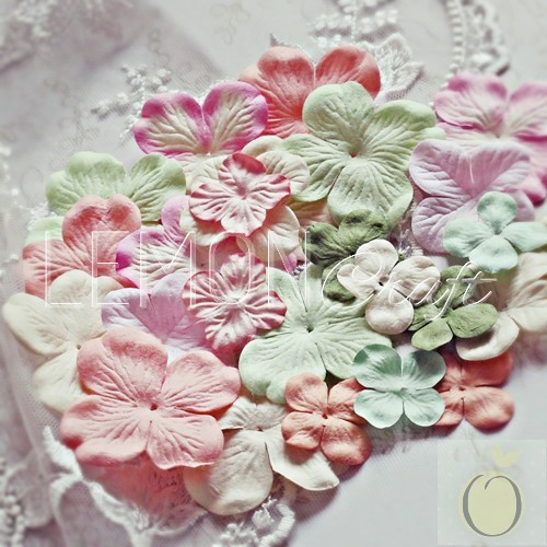 Heart Painted Hydrangeas