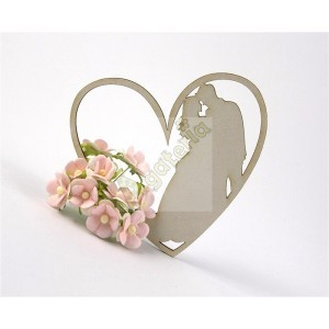 Young Couple in Love chipboard