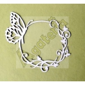 Frame with Butterfly
